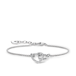 "bracelet ""TOGETHER Heart Small"" from the Glam & Soul collection in the THOMAS SABO online store"