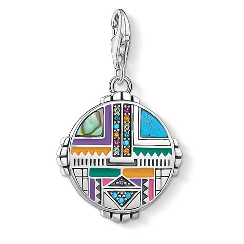 """Charm pendant """"sun symbol"""" from the  collection in the THOMAS SABO online store"""