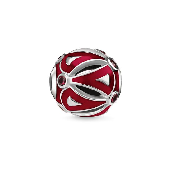 "Bead ""Ethnic Red"" from the Karma Beads collection in the THOMAS SABO online store"