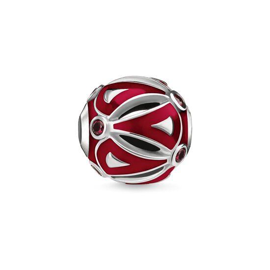 """Bead """"Ethno Rot"""" aus der Karma Beads Kollektion im Online Shop von THOMAS SABO"""