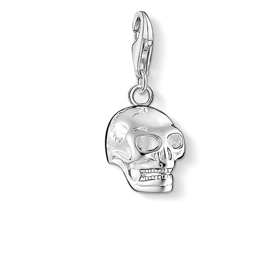 "Charm pendant ""skull"" from the  collection in the THOMAS SABO online store"