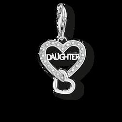 Charm-Anhänger DAUGHTER aus der Charm Club Collection Kollektion im Online Shop von THOMAS SABO