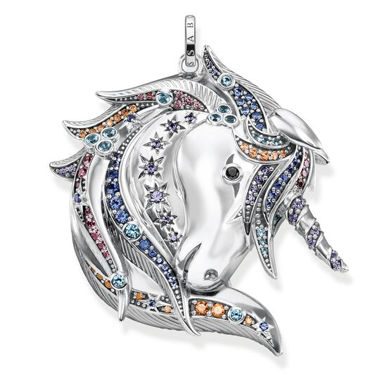 pendant royalty unicorn silver from the Glam & Soul collection in the THOMAS SABO online store