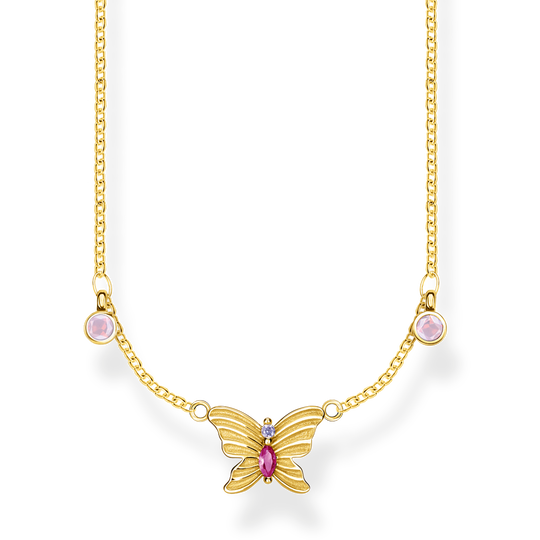 necklace butterfly gold from the Glam & Soul collection in the THOMAS SABO online store
