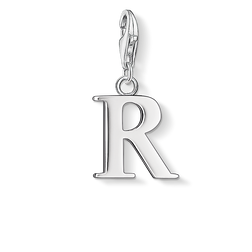 Charm pendant letter R from the  collection in the THOMAS SABO online store