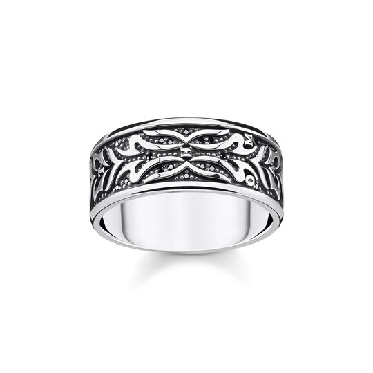 ring black tiger pattern from the  collection in the THOMAS SABO online store