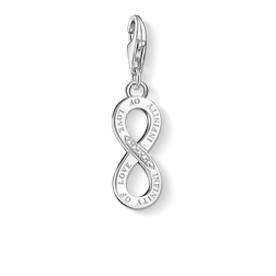"Charm pendant ""INFINITY OF LOVE"" from the  collection in the THOMAS SABO online store"