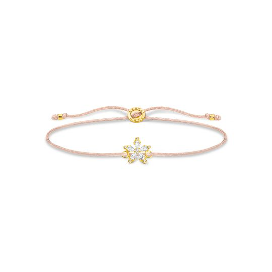 Bracelet flower white stones from the Charming Collection collection in the THOMAS SABO online store