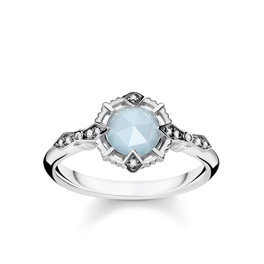 ring vintage light blue from the Glam & Soul collection in the THOMAS SABO online store