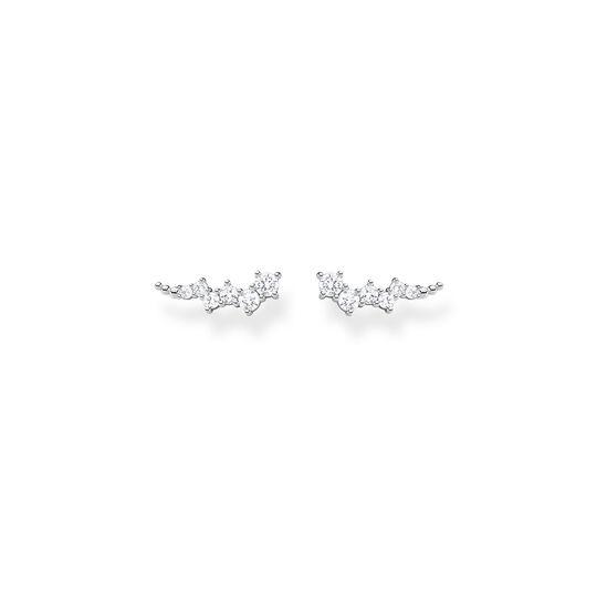 Boucles d'oreilles grimpante Pierres blanches argent de la collection Charming Collection dans la boutique en ligne de THOMAS SABO