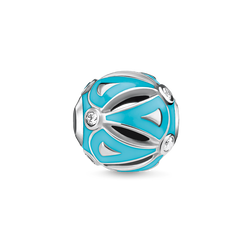 "Bead ""etnico turchese"" from the Karma Beads collection in the THOMAS SABO online store"