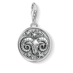 Thomas Sabo Charm pendant zodiac sign Gemini silver-coloured 1642-643-21 Thomas Sabo