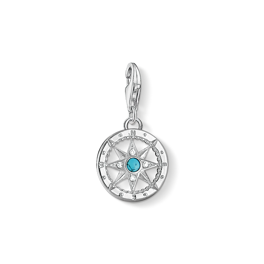 Charm pendant compass from the Charm Club collection in the THOMAS SABO online store