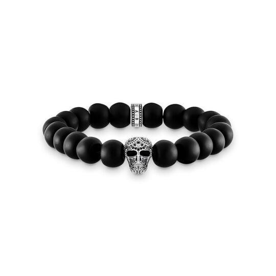 power bracelet maori skull from the  collection in the THOMAS SABO online store