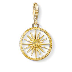 Charm pendant sun small from the Charm Club Collection collection in the THOMAS SABO online store