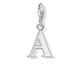Charm pendant letter A from the Charm Club Collection collection in the THOMAS SABO online store