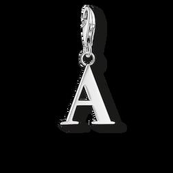 pendentif Charm lettre A de la collection  dans la boutique en ligne de THOMAS SABO