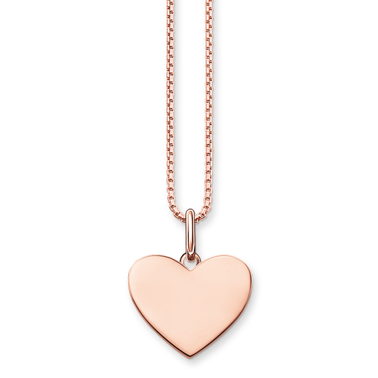 necklace heart from the Love Bridge collection in the THOMAS SABO online store