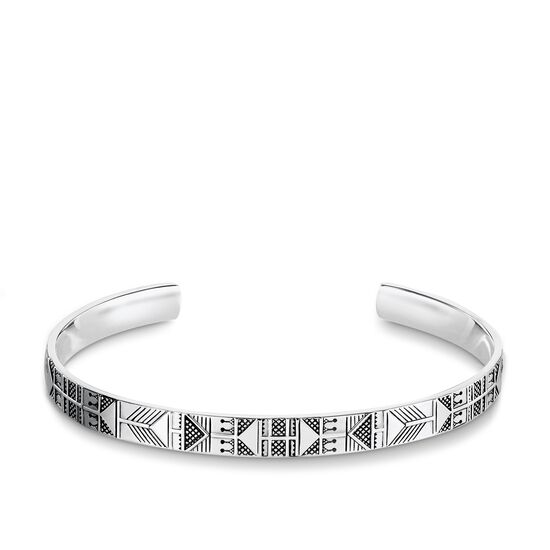 bracciale rigido from the Rebel at heart collection in the THOMAS SABO online store