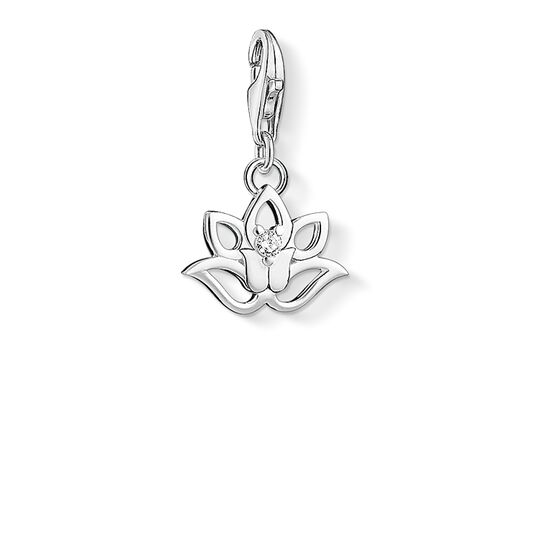 Charm pendant lotus flower from the Charm Club collection in the THOMAS SABO online store
