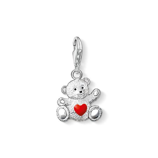 Charm pendant bear from the Charm Club collection in the THOMAS SABO online store