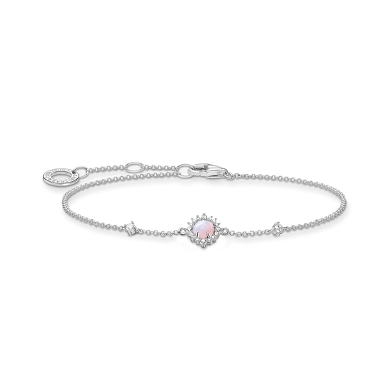 Bracelet vintage shimmering pink opal colour effect from the Charming Collection collection in the THOMAS SABO online store