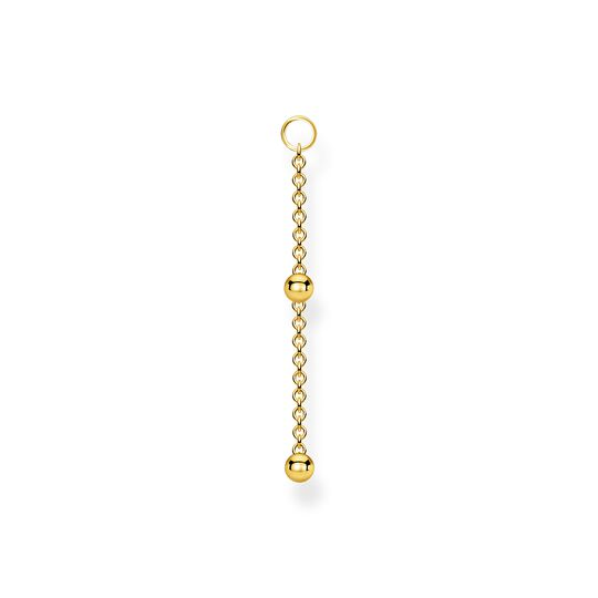 Single ear pendant dots gold from the Charming Collection collection in the THOMAS SABO online store