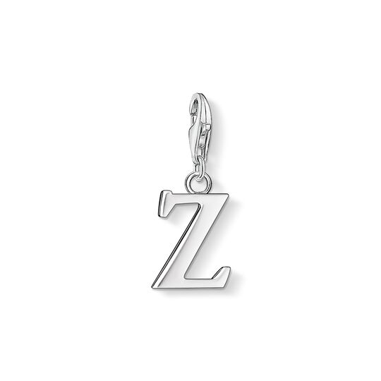 Charm pendant letter Z from the Charm Club collection in the THOMAS SABO online store