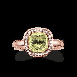 """solitaire """"vert"""" de la collection Glam & Soul dans la boutique en ligne de THOMAS SABO"""