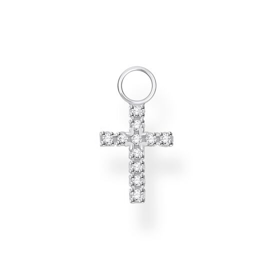 Single ear pendant cross from the Charming Collection collection in the THOMAS SABO online store