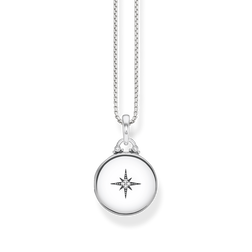 "necklace ""Locket silver round"" from the Glam & Soul collection in the THOMAS SABO online store"