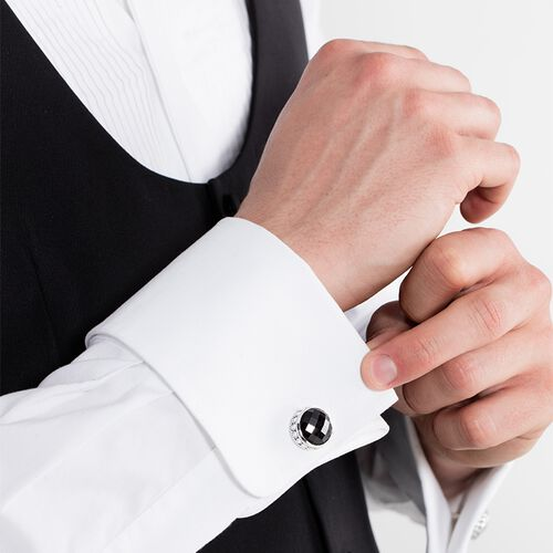 """cufflinks """"skull"""" from the Rebel at heart collection in the THOMAS SABO online store"""