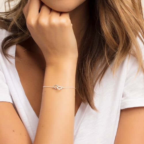"""bracelet """"TOGETHER Heart Small"""" from the Glam & Soul collection in the THOMAS SABO online store"""