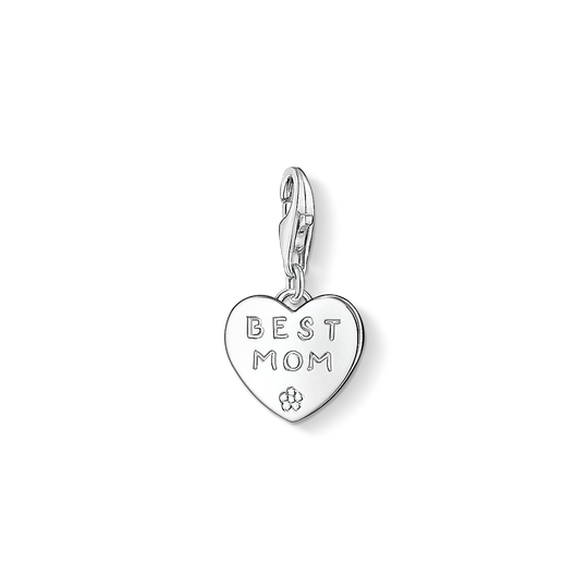 Charm pendant BEST MOM from the Charm Club collection in the THOMAS SABO online store