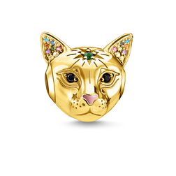 Bead Cat gold from the Karma Beads collection in the THOMAS SABO online store