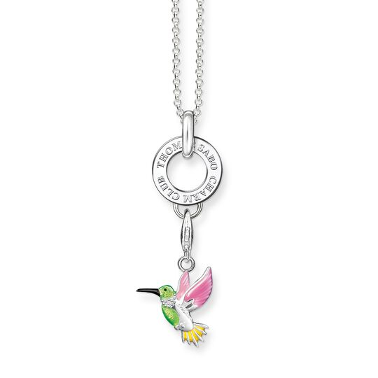 Charm necklace colourful Hummingbird from the  collection in the THOMAS SABO online store