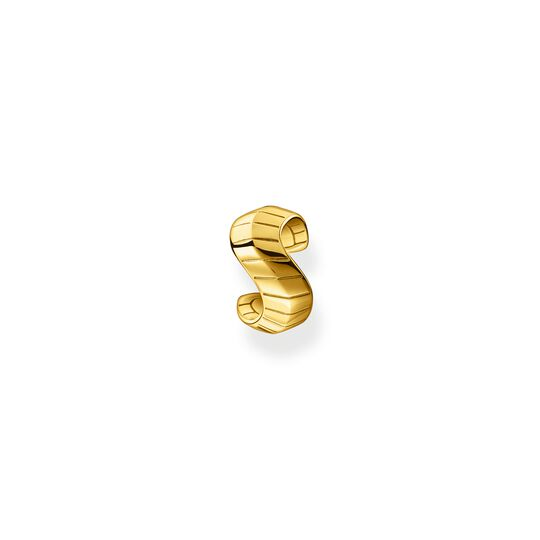 Single ear cuff snakeskin gold from the  collection in the THOMAS SABO online store