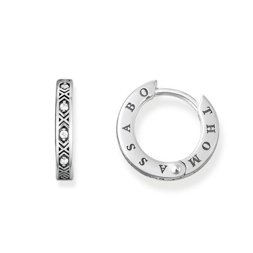 """hoop earrings """"Asian ornaments"""" from the Glam & Soul collection in the THOMAS SABO online store"""