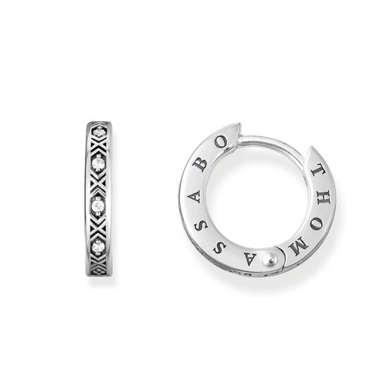 orecchini a cerchio from the Glam & Soul collection in the THOMAS SABO online store