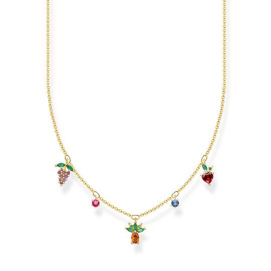 Kette Bunte Früchte gold aus der Charming Collection Kollektion im Online Shop von THOMAS SABO