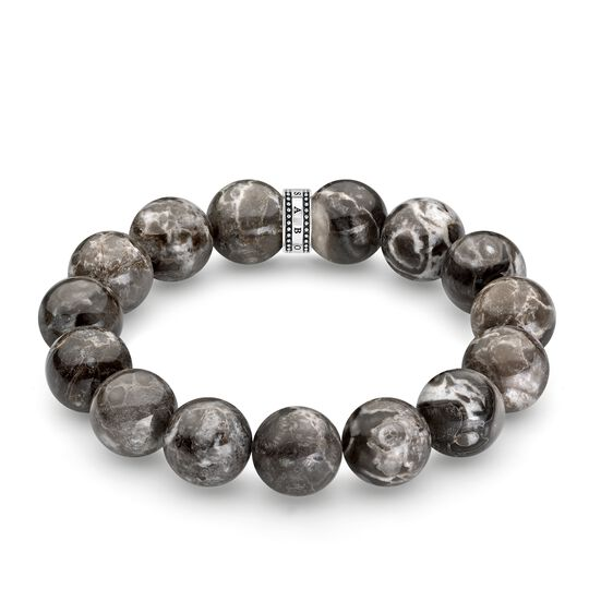"""bracelet """"Power Bracelet grey"""" from the Rebel at heart collection in the THOMAS SABO online store"""