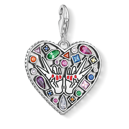 Charm pendant love from the  collection in the THOMAS SABO online store