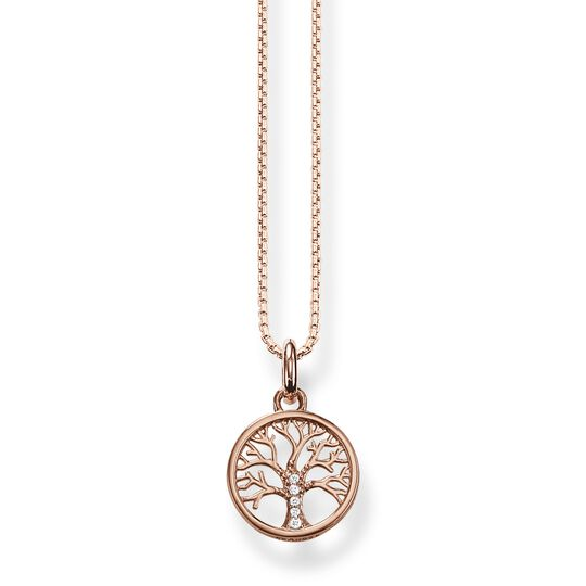 Necklace tree of love rose gold from the  collection in the THOMAS SABO online store