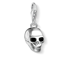 Charm pendant skull silver from the Charm Club Collection collection in the THOMAS SABO online store