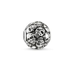 Bead skulls from the Karma Beads collection in the THOMAS SABO online store