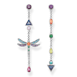 "orecchini pendenti ""libellula"" from the Glam & Soul collection in the THOMAS SABO online store"