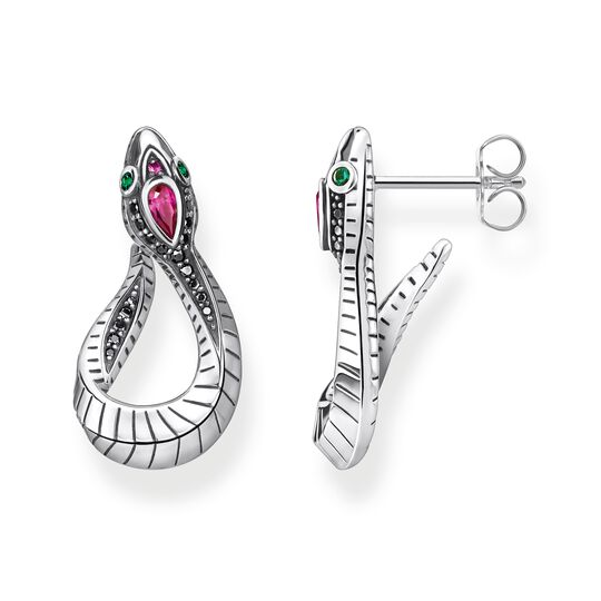 Earrings snake silver from the Glam & Soul collection in the THOMAS SABO online store