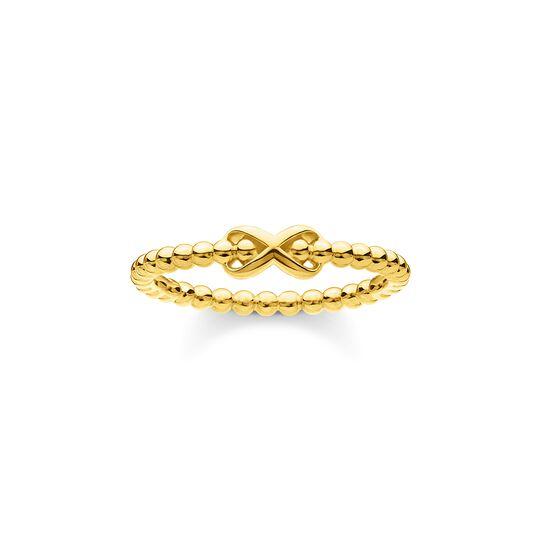 Bague perles vec Infinity or de la collection Charming Collection dans la boutique en ligne de THOMAS SABO