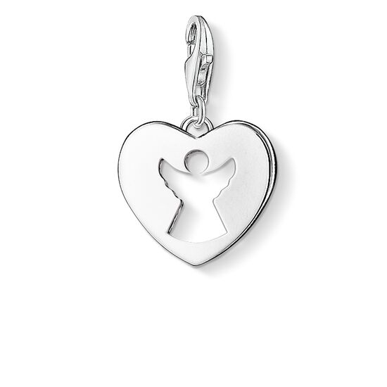 "ciondolo Charm ""cuore / angelo custode"" from the  collection in the THOMAS SABO online store"