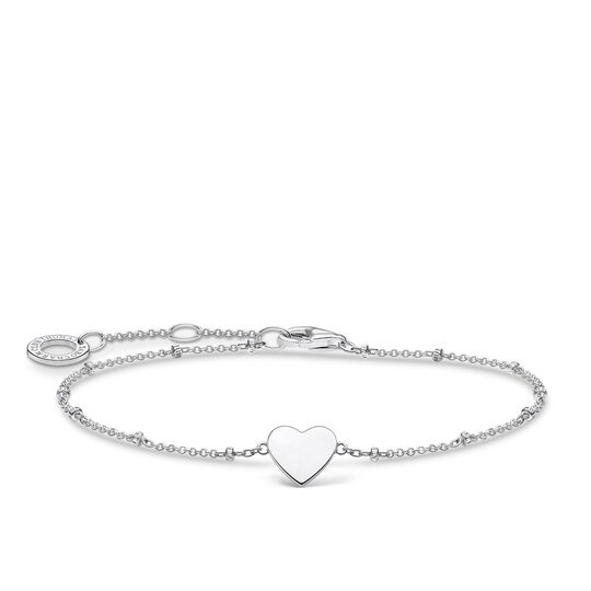 Bracelet heart with dots silver from the Charming Collection collection in the THOMAS SABO online store